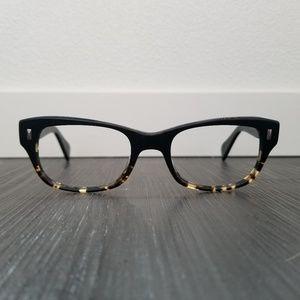 OLIVER PEOPLES Wacks Black Tortoise Eyeglasd